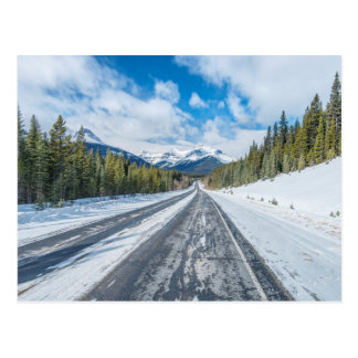 Ruta verde de Icefields Tarjeta Postal