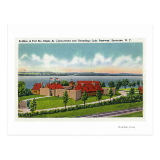 Ruta verde del lago Onondaga Tarjetas Postales