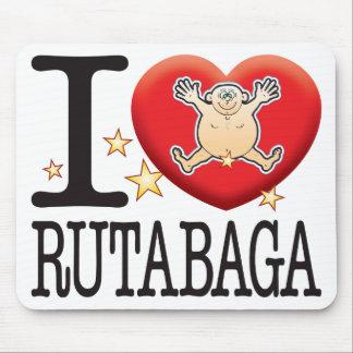 Rutabaga Love Man Mouse Pad