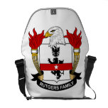 Rutgers Family Crest Courier Bag