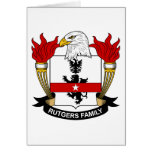 Rutgers Family Crest Greeting Card