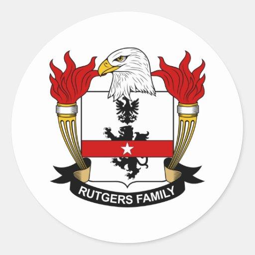Rutgers Family Crest Sticker