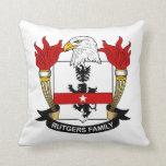 Rutgers Family Crest Throw Pillows