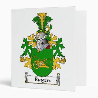 Rutgers Family Crest Vinyl Binders