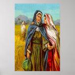 Ruth 1 Ruth va con el poster de Naomi Póster