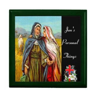 Ruth 1 Ruth va con la caja de regalo de Naomi