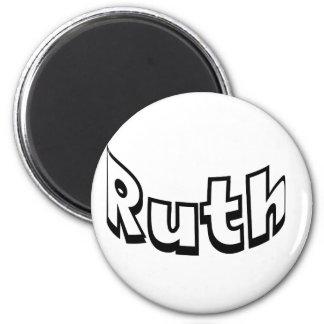 Ruth 2 Inch Round Magnet