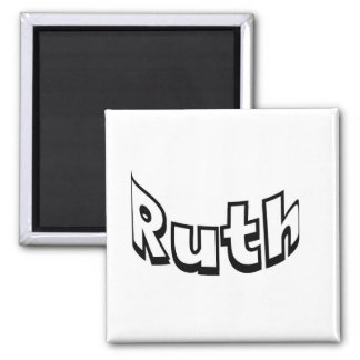 Ruth 2 Inch Square Magnet