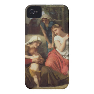 Ruth and Naomi, 1859 (oil on canvas) iPhone 4 Case-Mate Case
