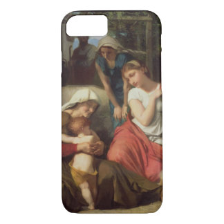 Ruth and Naomi, 1859 (oil on canvas) iPhone 8/7 Case
