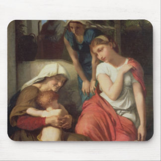 Ruth and Naomi, 1859 (oil on canvas) Mouse Pad