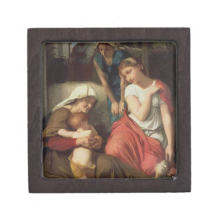 Ruth and Naomi, 1859 (oil on canvas) Premium Gift Boxes