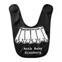 Ruth Baby Ginsburg Baby Bib