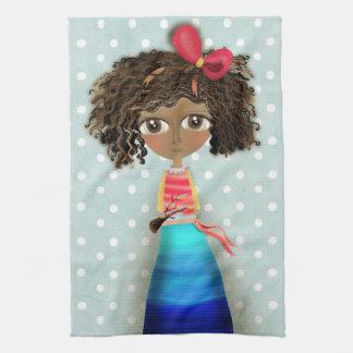 Ruth Fitta-Schulz - Art Doll Home Decor Africa Hand Towels