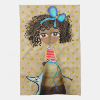 Ruth Fitta-Schulz - Art Doll Home Decor Africa Kitchen Towel