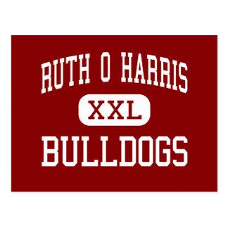 Ruth O Harris - Bulldogs - Junior - Bloomington Postcard