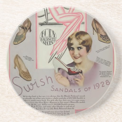Ruth Taylor Sandals Advertisement 1928 Coasters