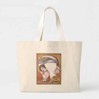 Ruth the Acrobat Canvas Bags