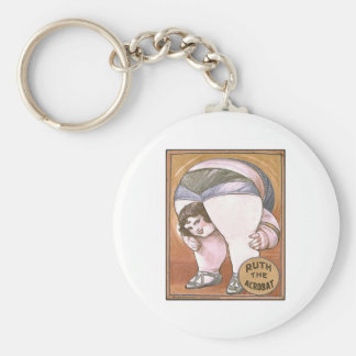 Ruth the Acrobat Basic Round Button Keychain