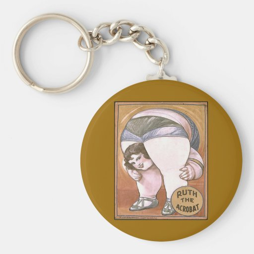 Ruth the Acrobat Keychain