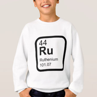 Ruthenium - Periodic Table science design Sweatshirt