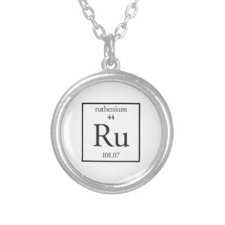 Ruthenium Silver Plated Necklace