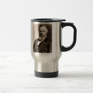 Rutherford B. Hayes 15 Oz Stainless Steel Travel Mug
