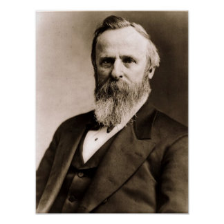 Rutherford B. Hayes 19 Póster