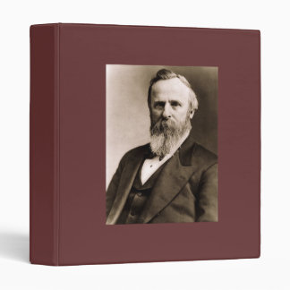 Rutherford B. Hayes 19th President 3 Ring Binder