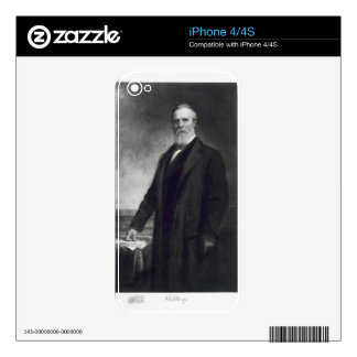Rutherford B. Hayes, 19th President of the United iPhone 4 Decals