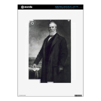 Rutherford B. Hayes, 19th President of the United Skin For iPad 3