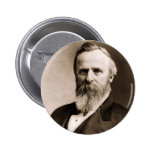 Rutherford B. Hayes 2 Inch Round Button