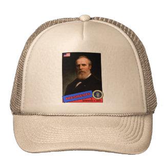 Rutherford B. Hayes Baseball Card Trucker Hat