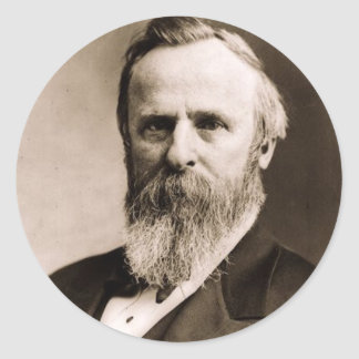 Rutherford B. Hayes Classic Round Sticker