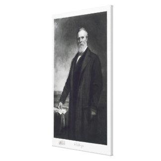 Rutherford B. Hayes, diecinueveavo presidente del  Lona Envuelta Para Galerías