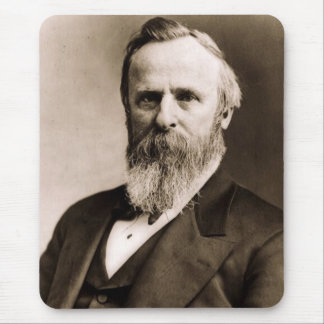 Rutherford B. Hayes Mouse Pad