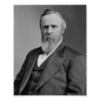 Rutherford B. Hayes Póster