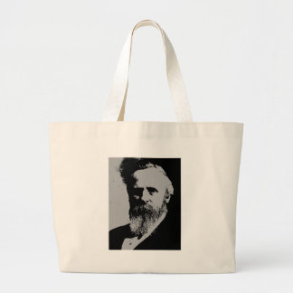 Rutherford B Hayes silhouette Tote Bags