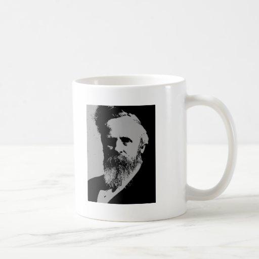 Rutherford B. Hayes silhouette Coffee Mug