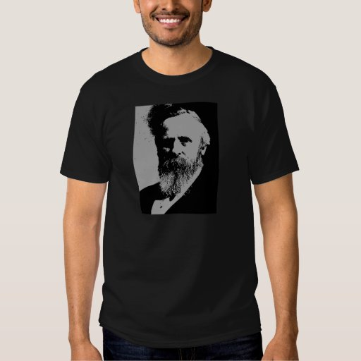 Rutherford B. Hayes silhouette Tees