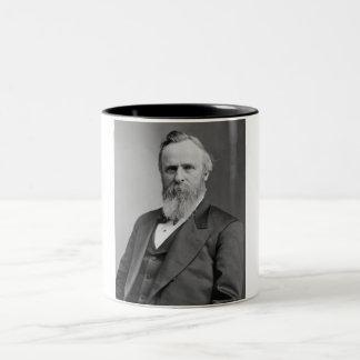 Rutherford B. Hayes Two-Tone Coffee Mug