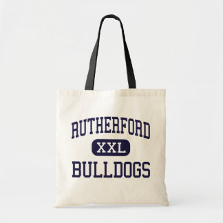 Rutherford - Bulldogs - High - Rutherford Tote Bags