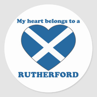 Rutherford Classic Round Sticker
