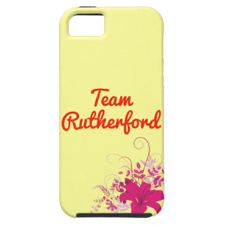 Rutherford del equipo iPhone 5 Case-Mate funda