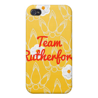 Rutherford del equipo iPhone 4 funda