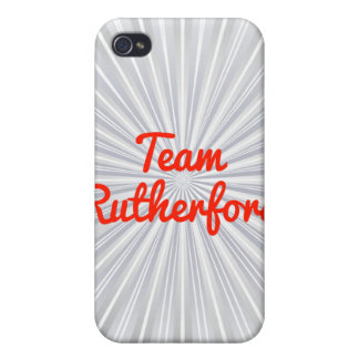 Rutherford del equipo iPhone 4/4S carcasa