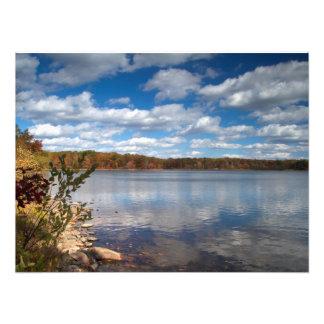 Rutherford del lago - NJ escénico Fotos