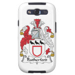 Rutherford Family Crest Samsung Galaxy S3 Covers