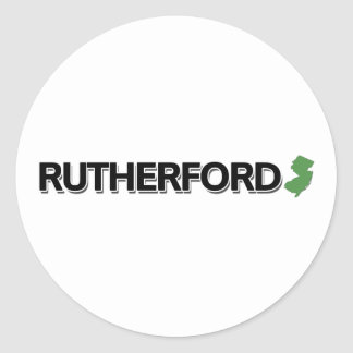 Rutherford, New Jersey Classic Round Sticker