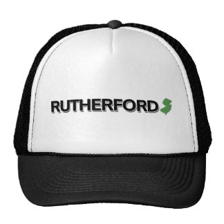 Rutherford, New Jersey Trucker Hat